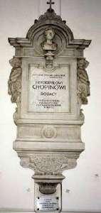 Chopins Herz in der Heilig Kreuz-Kirche, Warschau