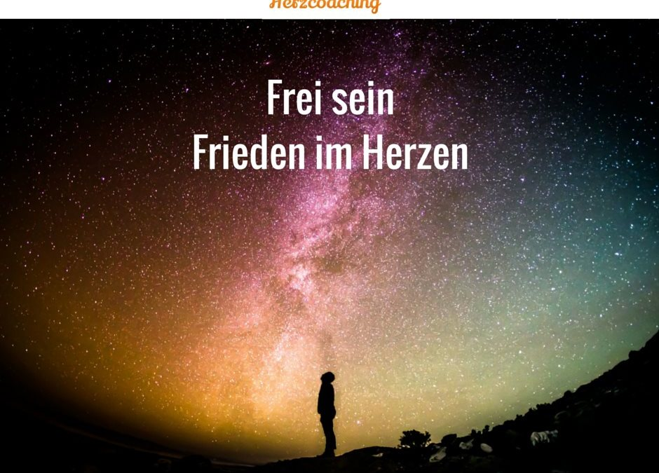 """Frei sein – Frieden im Herzen – Blogparade """"Finde Deine innere Wahrheit"""" – zum Buch Seelengeflüster"""