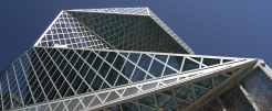 Custom Exterior Glass - Seattle Central Library
