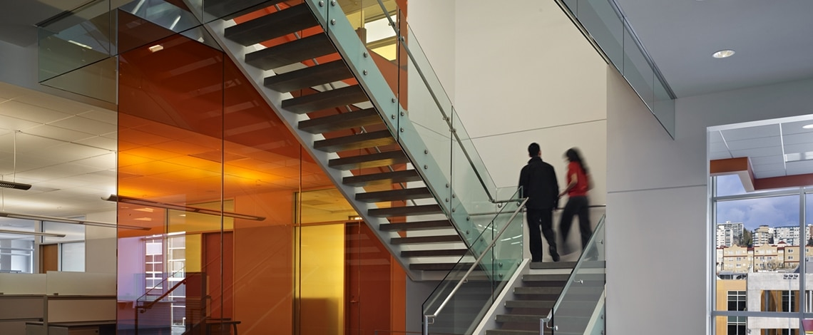 Feature-Wall-and-Stair-Institute-for-Systems-Biology