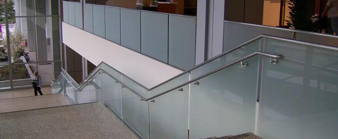 Glass-Handrail-Providence-Everett-Medical-Center