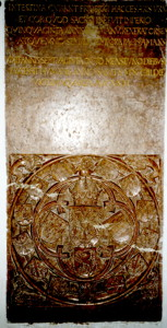 Kardio-Enterotaph Friedrichs III. in der Linzer Stadtpfarrkirche
