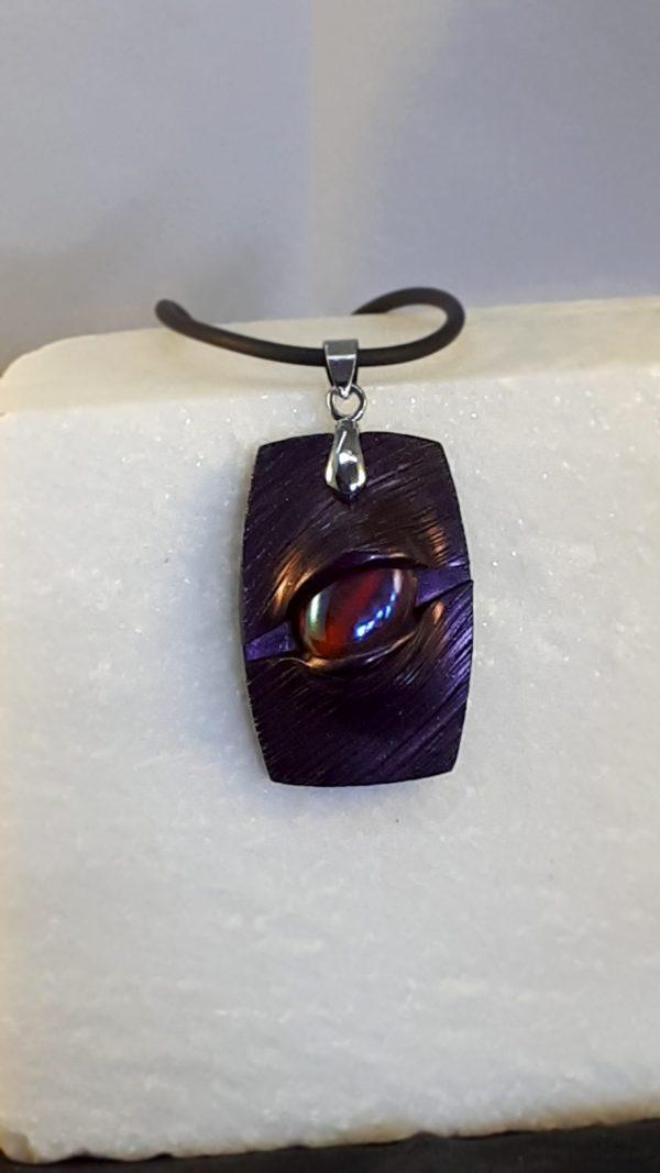 Druidenamulett violett
