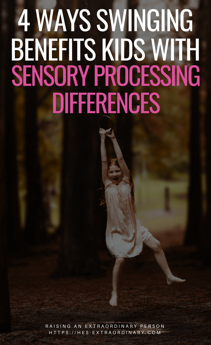 4 Ways Swinging Benefits Kids With Sensory Processing Differences - 10 Therapy Swings for Under $100 - #SensoryDiet #SensoryProcessingDisorder #SPD #Autism #ADHDKids #SensoryPlay #OT #OccupationalTherapy #SensoryIntegration