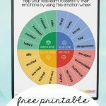 Wheel Of Emotions For Kids