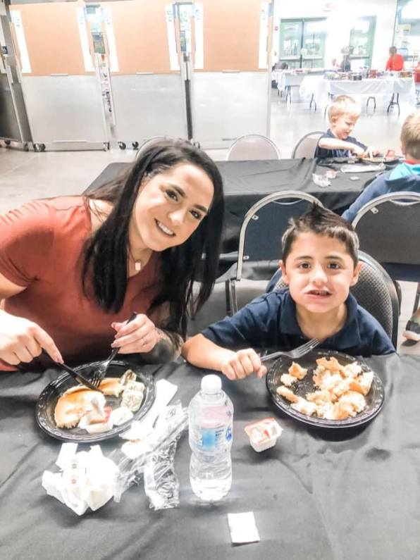 Pancakes with the principal 2019