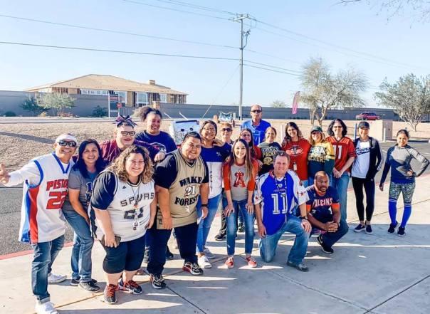Teachers from Spirit Week 2020