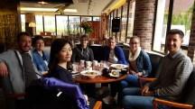 Diner avec Veronika Schoeb et Doris Chong.