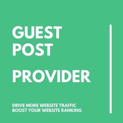 Guest Post provider
