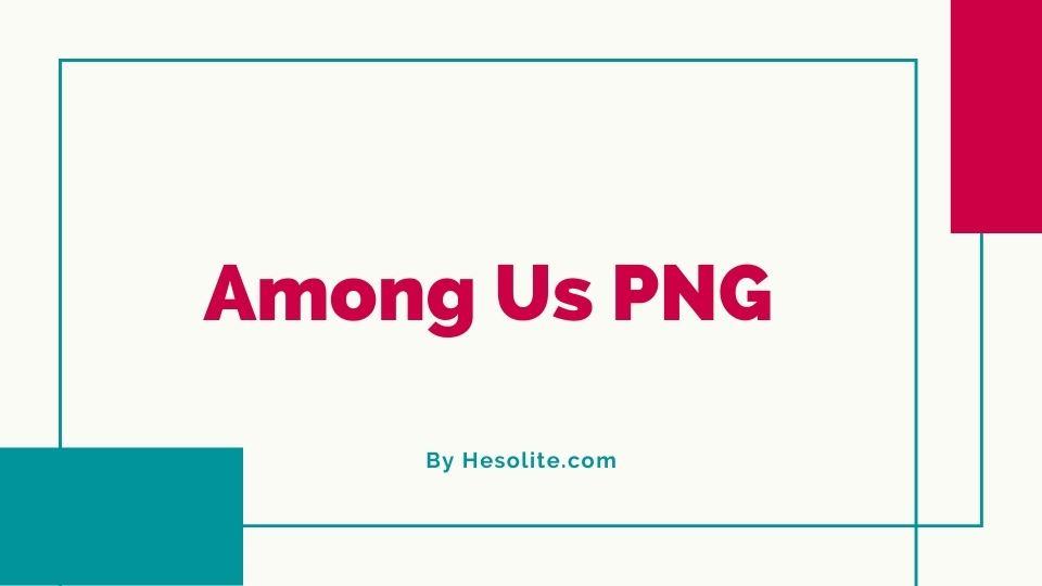 among us PNG