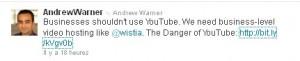 Andrew Warner Tweet