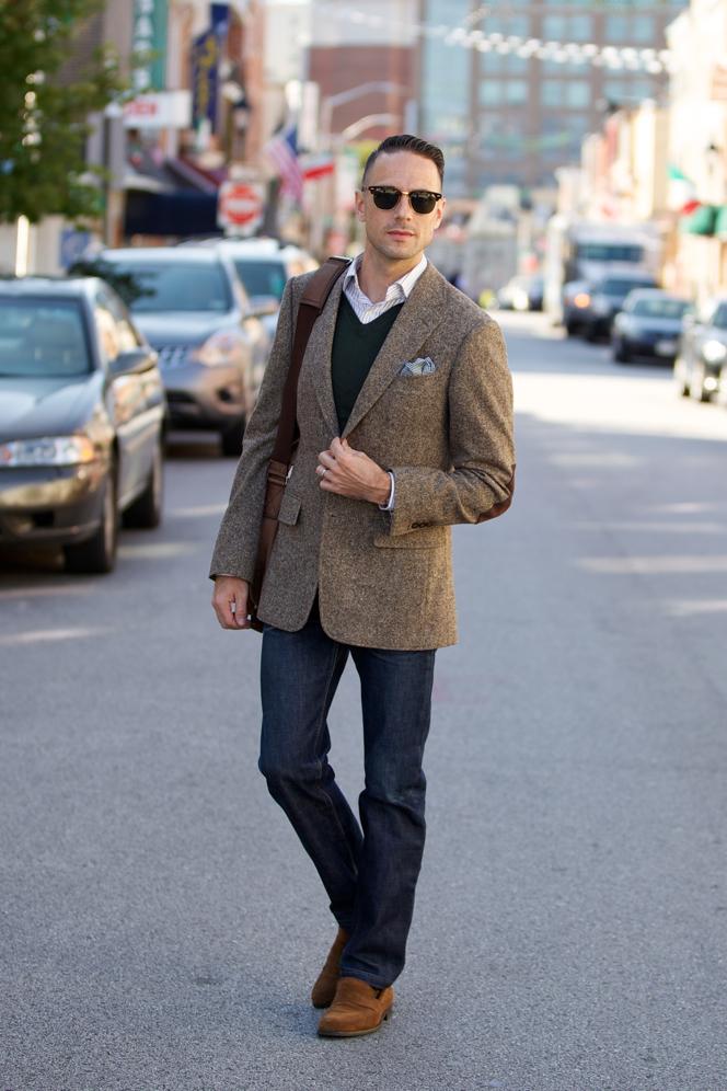 Tweed Blazer Fall Essentials - He Spoke Style