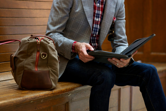 Plaid Suit Jacket - He Spoke Style