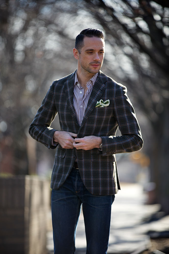 plaid sport coat he spoke style. Black Bedroom Furniture Sets. Home Design Ideas