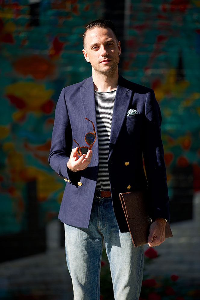 Leather Portfolio - He Spoke Style