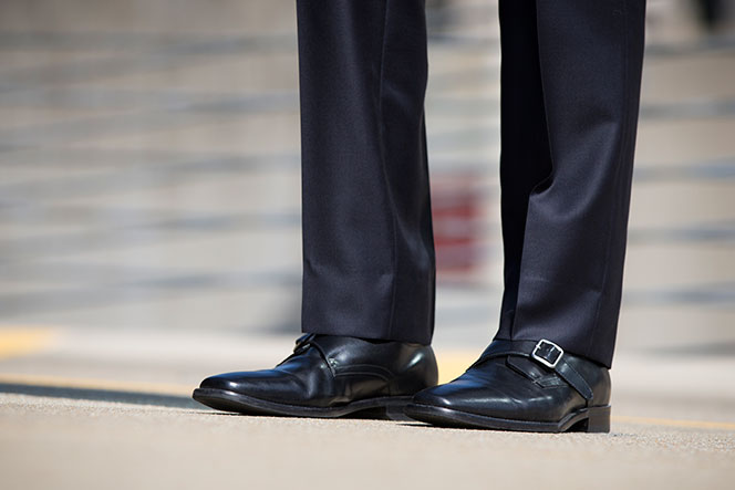 Boss Navy - He Spoke Style