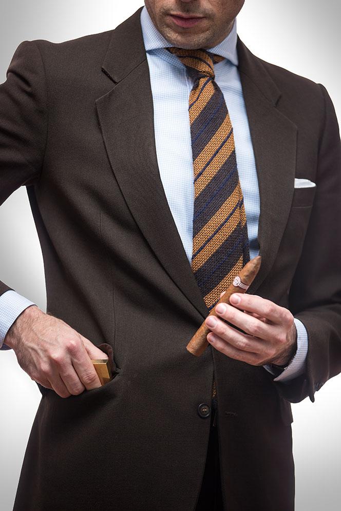 Suit Jacket Pockets - He Spoke Style