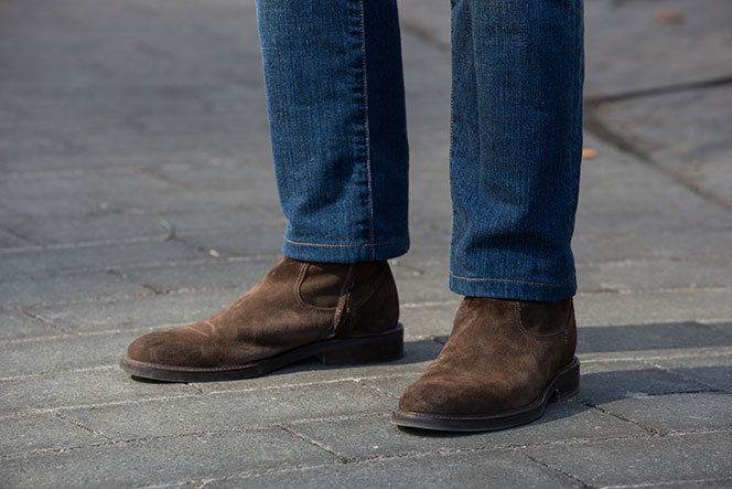Brown Suede Boots - He Spoke Style