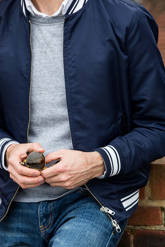 Weekend Varsity Jacket - He Spoke Style