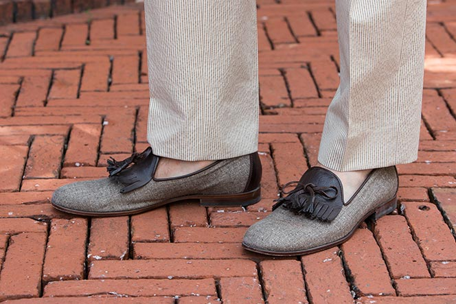 Suitsupply Kiltie Tassel Loafers - He Spoke Style