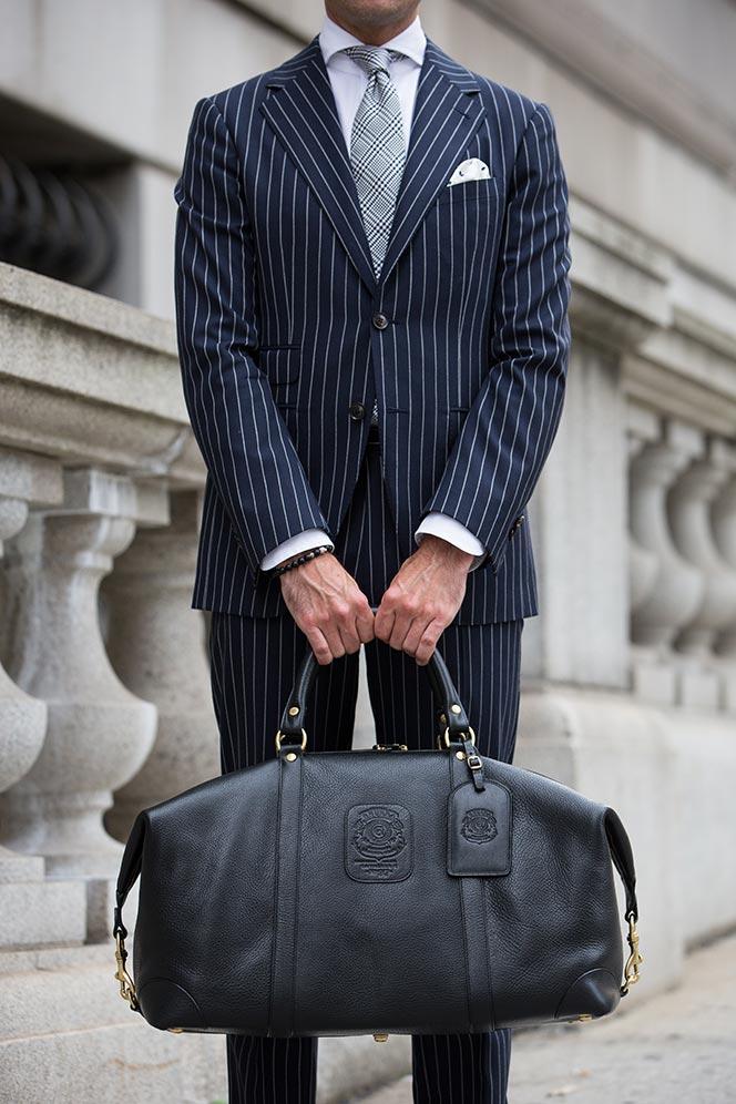 Ghurka Cavalier II Leather Duffel Bag - He Spoke Style