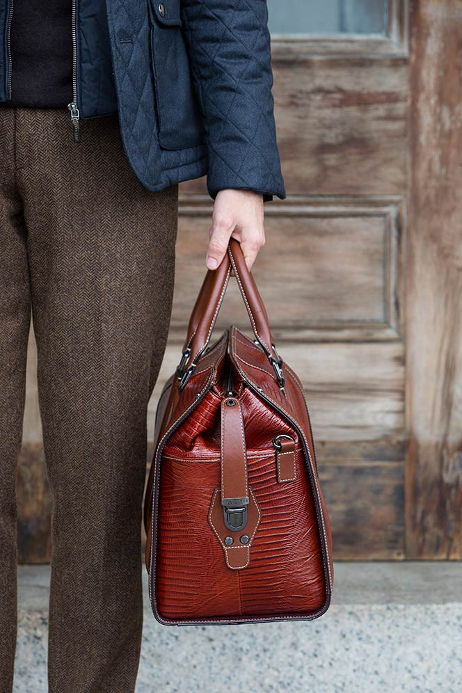 Ted Baker Leather Bag - He Spoke Style