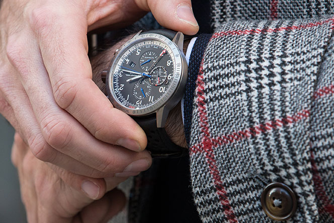 Raymond Weil Freelancer Piper Automatic Chronograph Special Edition Watch Review - He Spoke Style