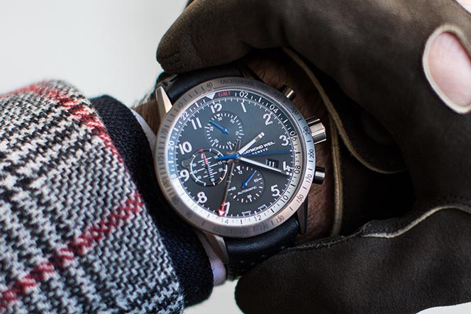 how to use chronograph watch