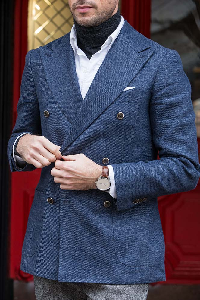 mens-turtleneck-sweaters-under-shirts-blue-double-breasted-blazer-styling-outfit-idea-winter-2016
