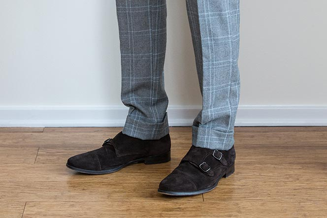 proper break in pants pant length medium break