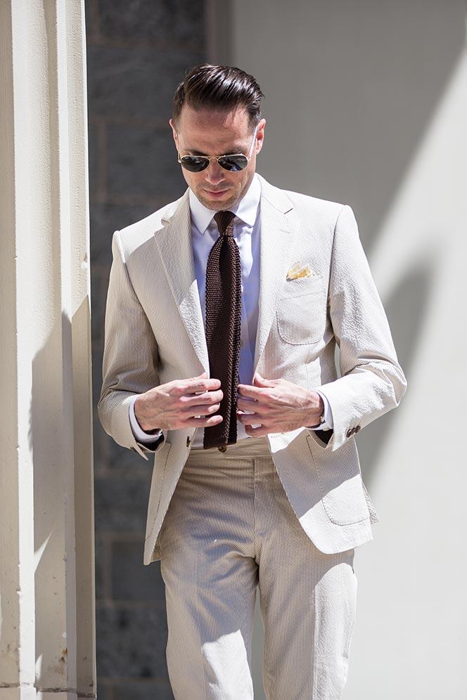 seersucker suit spring wedding