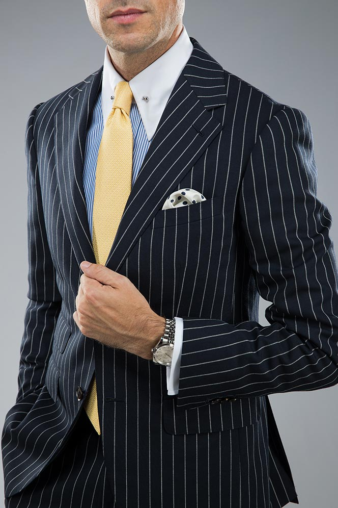 pin collar dress shirt style