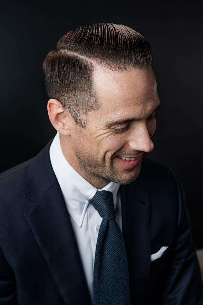 classic-mens-side-part-hairstyle-with-navy-suit-new-years-eve-classy-outfit-ideas