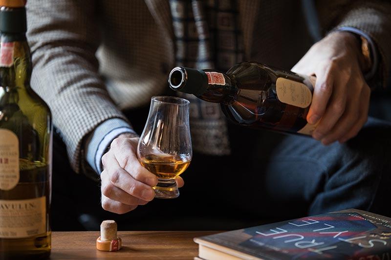 lagavulin 12 vs 16 scotch whisky