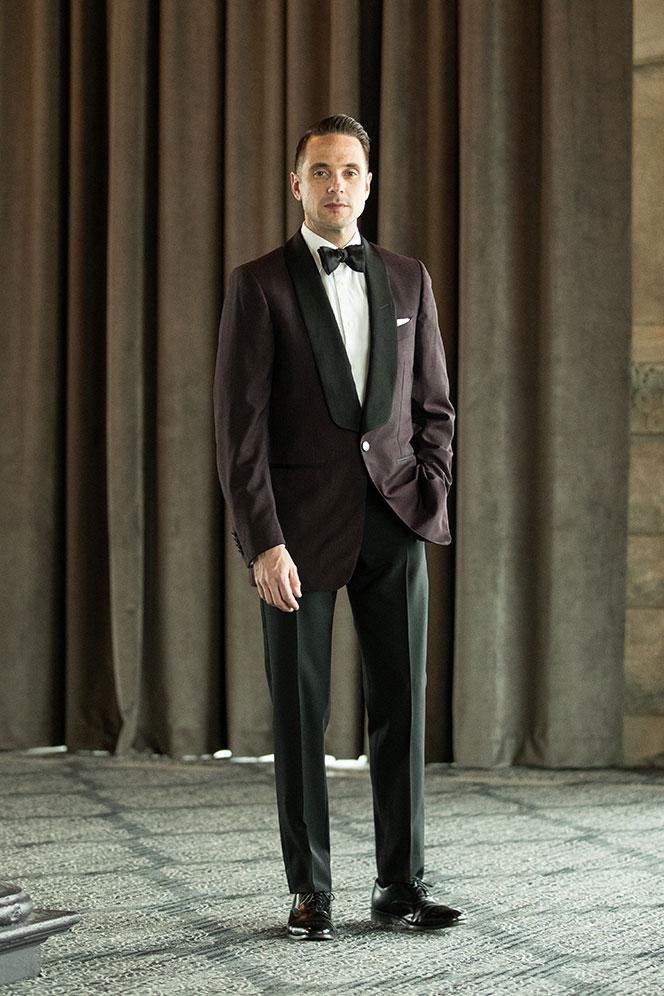 black tie optional wedding dress code