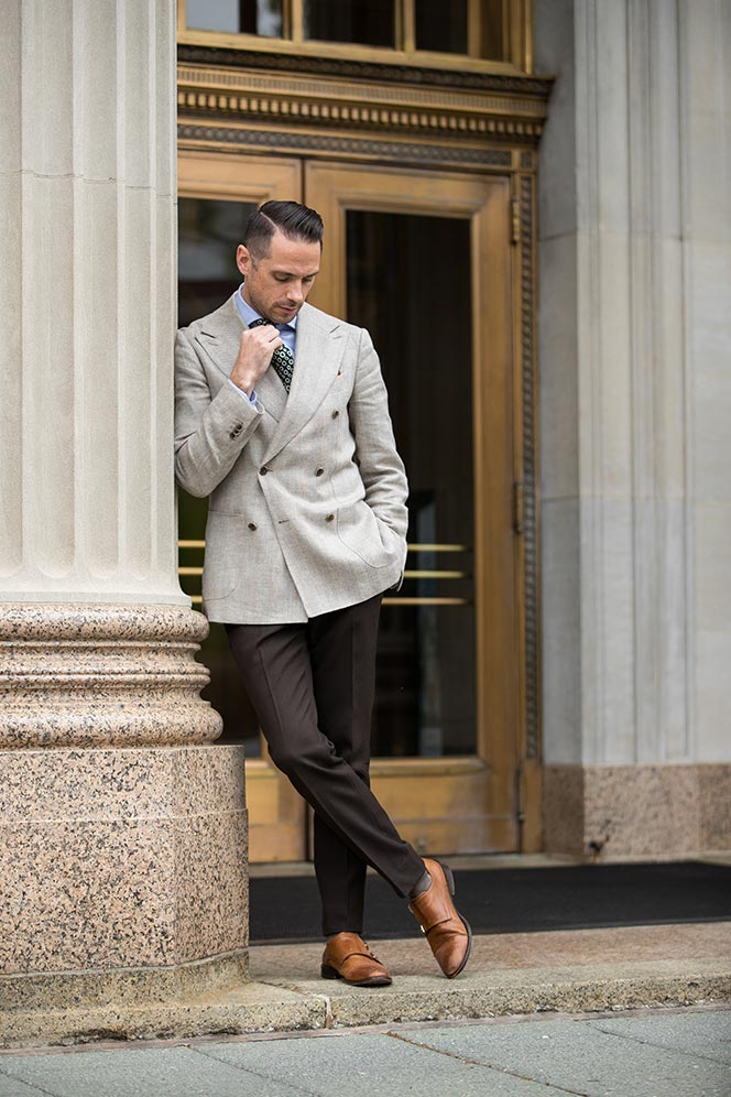 how to wear funky conversational ties