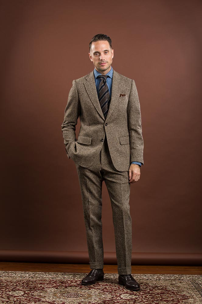 tell good quality suit