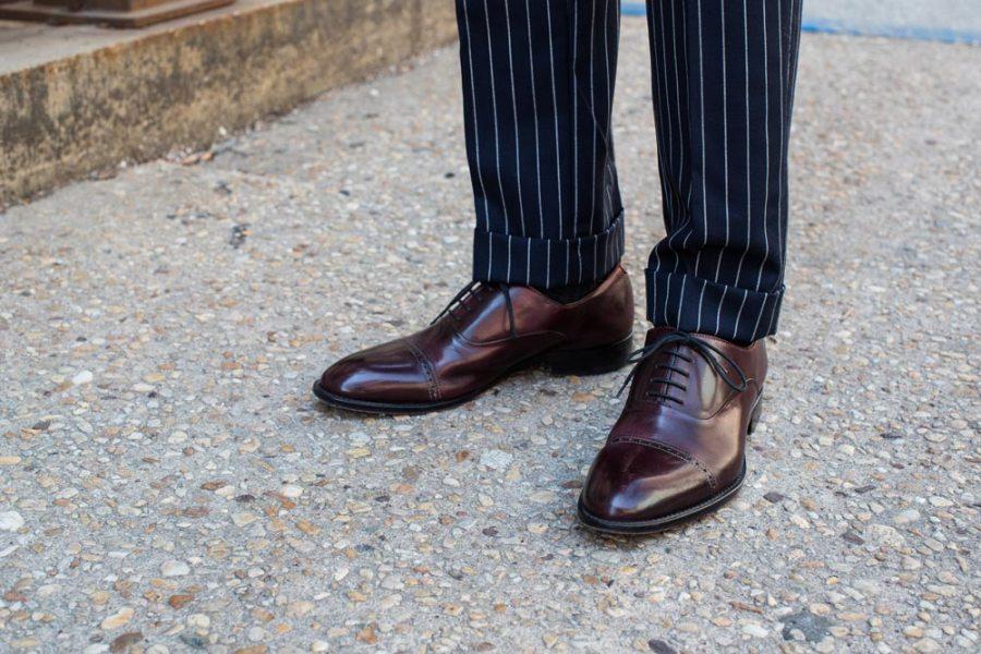 pinstripe suit outfit ideas