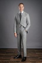 Light Grey Flannel Suit