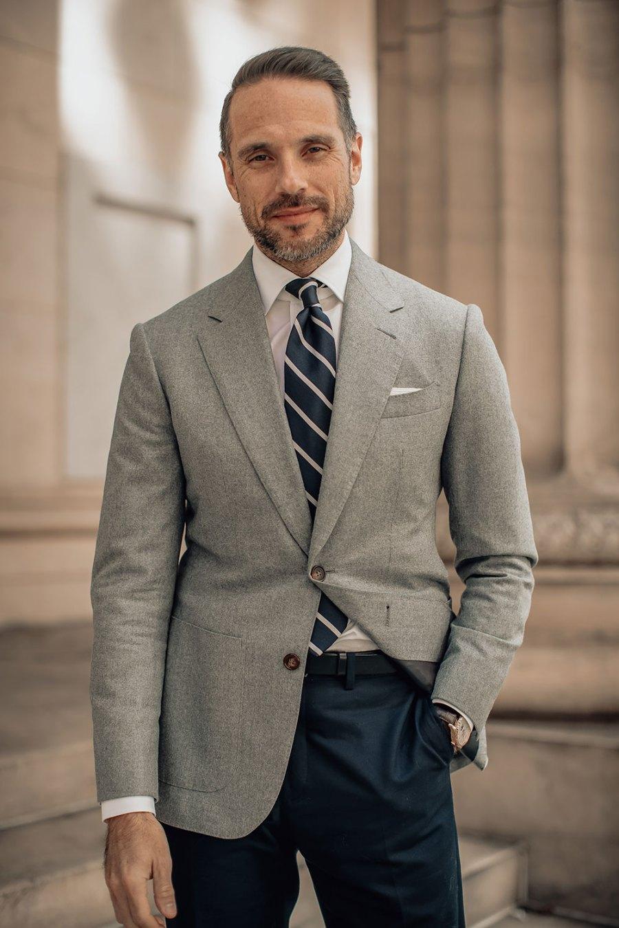 relaxed business attire men