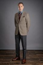 Charcoal Grey Flannel Pants
