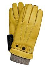 """3 in 1"" Deerskin & Wool Gloves (L)"
