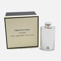 English Pewter Company x He Spoke Style 2 oz. Flask