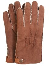 Handsewn Double-Faced Shearling Gloves (XL)