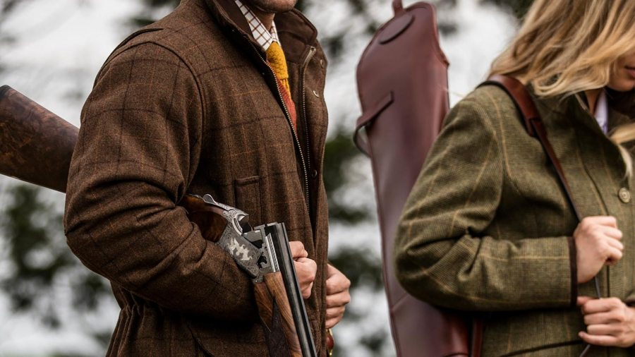 no-brown-in-town-country-wear-mens-hunting-shooting-jacket