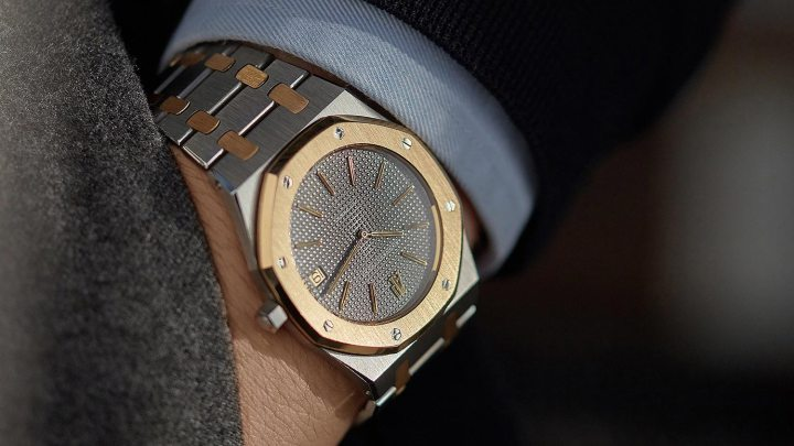 two-tone-yellow-gold-steel-Audemars-Piguet-5402SA-royal-oak-watch