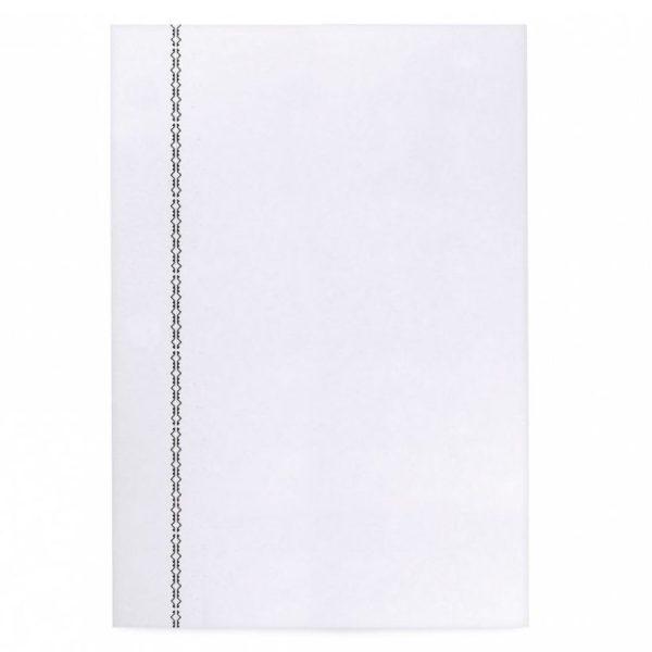 La Compagnie du Kraft Notebook Refill – White Unlined