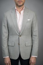 Light Grey Fresco Sport Coat