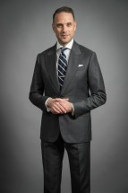 medium grey suit