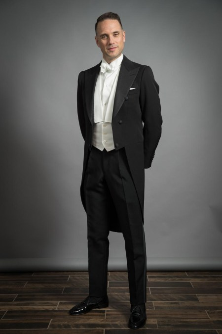 white tie tails tailcoat